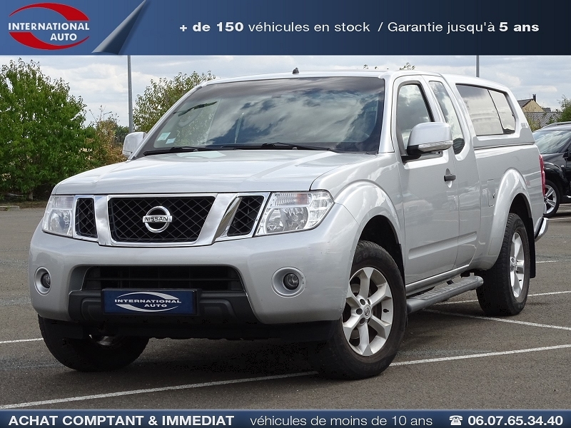 Photo 1 de l'offre de NISSAN NAVARA 2.5 DCI 190CH KING-CAB SE à 16890€ chez International Auto Auneau