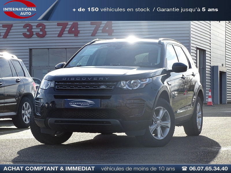 Land-Rover DISCOVERY SPORT 2.0 TD4 150CH AWD SE BVA MARK I Diesel NOIR Occasion à vendre