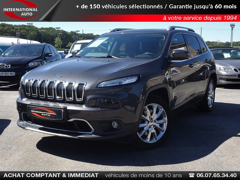 Jeep CHEROKEE 2.2 MULTIJET 200CH LIMITED ACTIVE DRIVE I BVA S/S Occasion à vendre