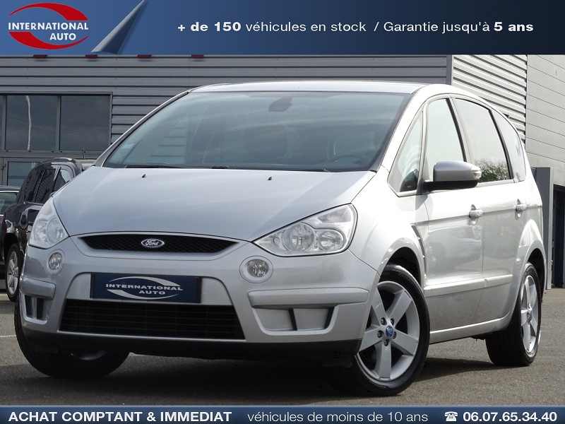 Photo 1 de l'offre de FORD S-MAX 2.0 TDCI 140CH TITANIUM à 7990€ chez International Auto Auneau
