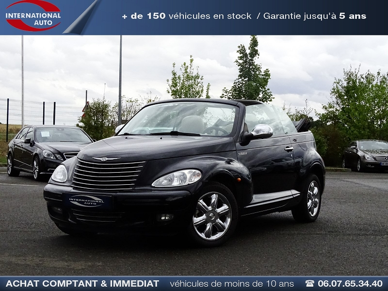 Chrysler PT CRUISER CABRIOLET 2.4 LIMITED Essence NOIR Occasion à vendre