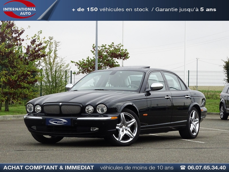 Jaguar XJ6 2.7D BI-TURBO SOVEREIGN BA Diesel NOIR Occasion à vendre