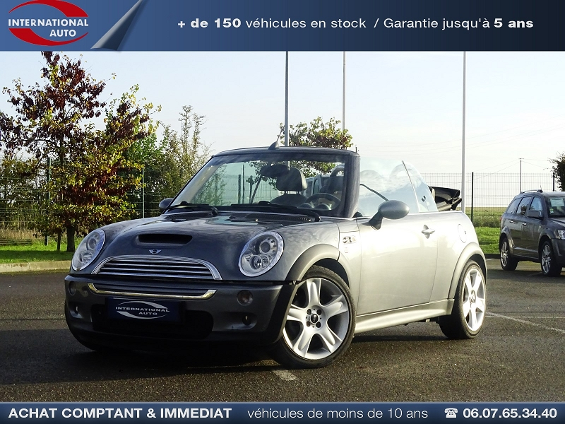 Mini CABRIO COOPER S 170CH SIDEWALK Essence GRIS MEDIUM  Occasion à vendre