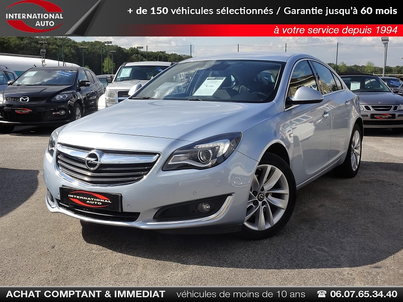 Opel INSIGNIA 2.0 CDTI 170CH BLUEINJECTION ELITE AUTO 5P Diesel GRIS MEDIUM  Occasion à vendre
