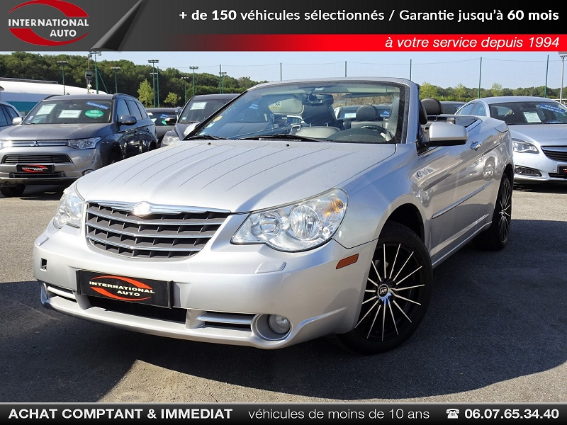 Photo 1 de l'offre de CHRYSLER SEBRING CABRIOLET 2.0 CRD LIMITED TOIT RIGIDE à 8690€ chez International auto Coignieres
