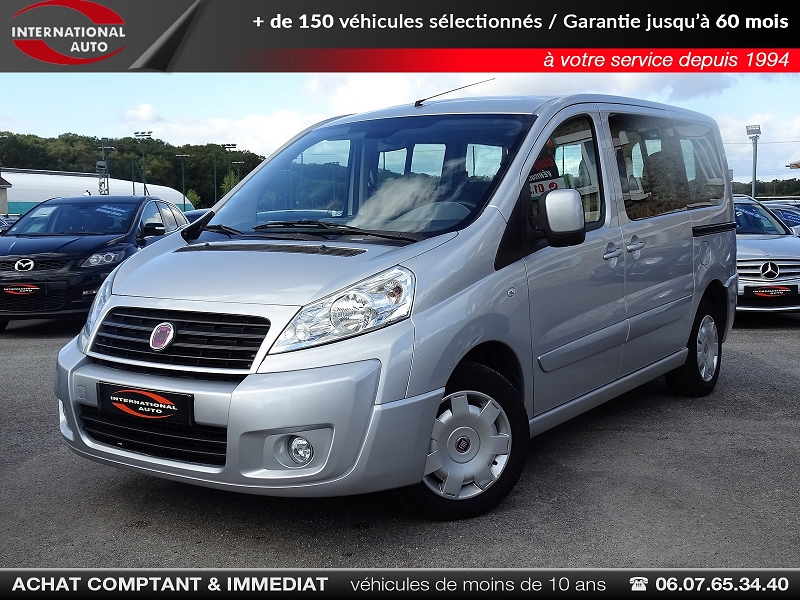 Photo 1 de l'offre de FIAT SCUDO PANORAMA CH1 1.6 MULTIJET 16V  8/9 PLACES à 11990€ chez International auto Coignieres