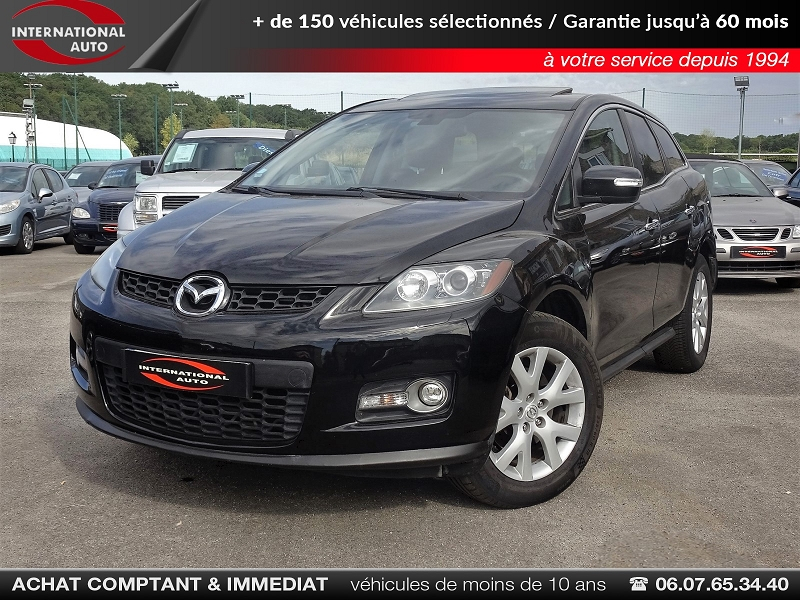 Mazda CX-7 2.3 MZR DISI TURBO Essence NOIR Occasion à vendre