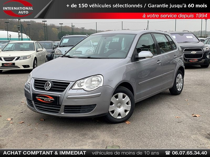 Volkswagen POLO 1.2 60CH UNITED 5P Essence GRIS CLAIR  Occasion à vendre