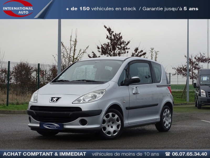 Photo 1 de l'offre de PEUGEOT 1007 1.4 HDI TRENDY à 5590€ chez International Auto Auneau